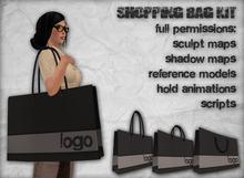BEST SELLER! - [UT] Shopping Bag Kit - Full Perms