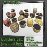 Jeweled Eggs Builders Set