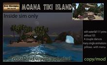 PROMO 720L OFF! Moana Tiki island -inside sim version -box