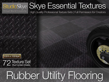 Rubber Utility Flooring - PROMO PRICE - 72 Full Perms Textures