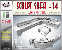 Sculpt sofa 14(box) by **aVISTYLe** (Low Price Line) - for FULL PERM !!