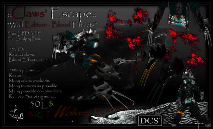 ::SilverClaws v6.0 Wolf Edition:: Blood Effects
