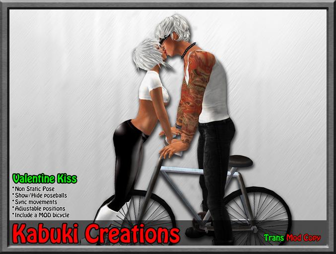 *Kabuki Creations *~* Valentine Kiss *~* Free