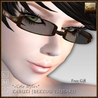 *+Crie Style+* KABUKI - BEKKOU TSUBAKI / Free Gift :)