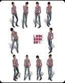 @waffles! Lookbook Boy Series Fatpack