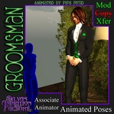 Groomsman -- Wedding Best Man or Groom's Man Animation (no-copy)