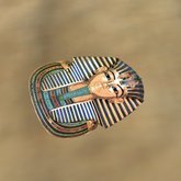 King Tutankhamun mask,Ancient Egypt*Land of the Pharaohs*Pyrami
