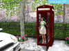 {what next} My Red Telephone Box Pose Prop