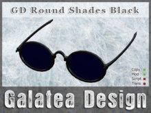 Round Shades, Black - Promo