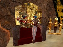 Ancient Egyptian Throne