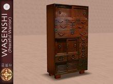 Antique Japanese Storage Cupboard-3