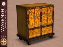 Japanese Antique Tansu storage cabinet. # 2