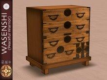 Japanese Antique Tansu storage, set of drawers. # 1