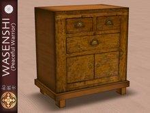 Japanese Antique Tansu storage, set of drawers. # 2