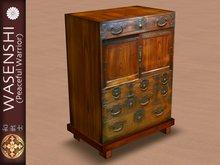 Japanese Antique Tansu storage, set of drawers. #5
