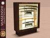 Japanese katana sword display cabinet