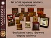 Wasenshi Japanese cabinets and cupboards - Special Offer!