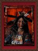"American Native Art ""Cheyenne Princess"""