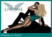 """[LA] LOSTANGEL: """"Heaven on Earth"""" - Couple Pose"""