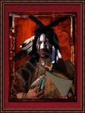 "American Native Art ""Crow"""