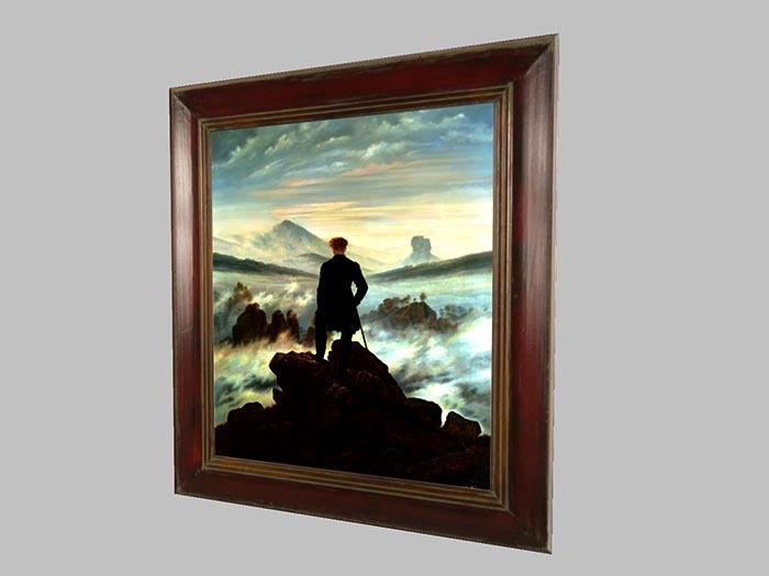 Caspar David Friedrich - Hiker above the Fog Sea