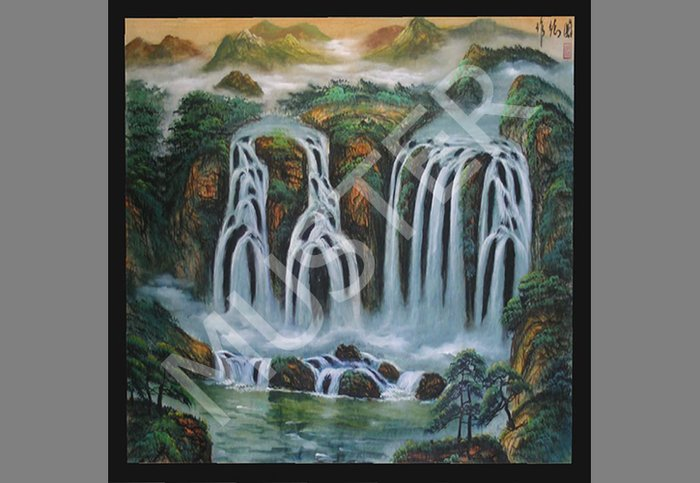 Chinese Picture - Waterfall