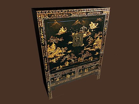 Asian Cabinet 1
