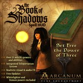 "The Book of Shadows | ""Charmed"" Spell Casting System"