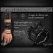 *BLITZED* Legacy Cuffs - BLACK
