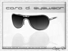 Casa .D sun glasses  Silver mask