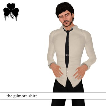 *FIR & MNA* The Gilmore Shirt White