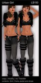 @ ! Bliss Designs ~  Urban Girl Collection ~ UG 21 ~  High Quality Causual Woman's Clothing - Women's Pants Outfit