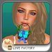 !-[LoveFactory]- Mouthy Easter Basket - blue  *Box*