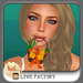 !-[LoveFactory]- Mouthy Easter Basket - orange *Box*