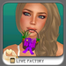 !-[LoveFactory]- Mouthy Easter Basket - purple  *Box*