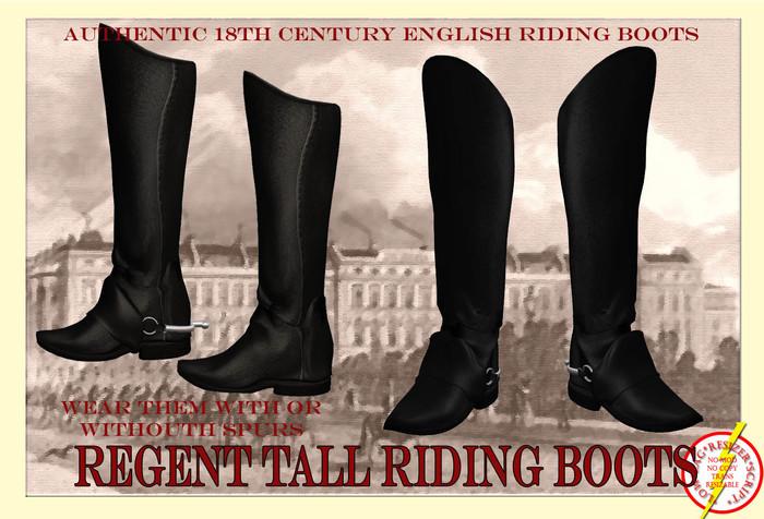 Regent Tall Riding Boots