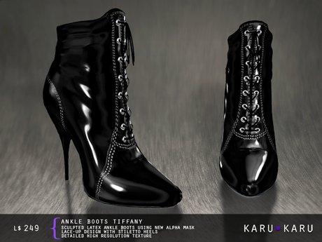 KARU KARU - Ankle Boots Tiffany (BLACK)