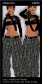 ! Bliss Designs ~ Urban Girl Collection ~ UG 02 ~  High Quality Causual Woman's Clothing - Women's Pants Outfit