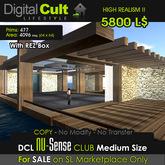 *** DCL Nu-Sense Club Medium size - perfect for 4096 mt lands