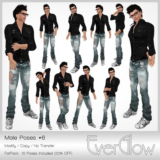 *EverGlow* - Boys Poses #6