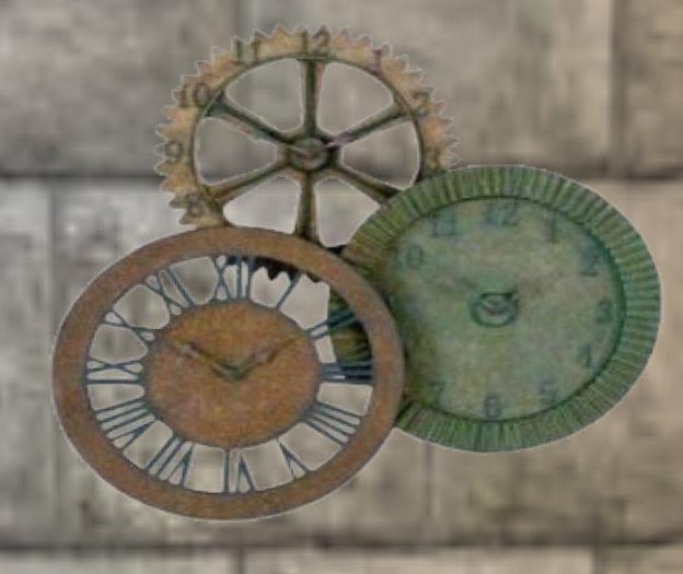 Metal Clocks Wall Decoration