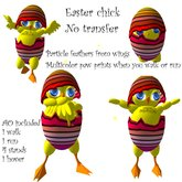 easter chick (poussin de pâques)