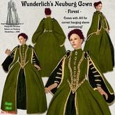 Wunderlich's Elizabethan Neuburg dress - Forest