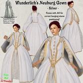 Wunderlich's Elizabethan Neuburg dress - Silver
