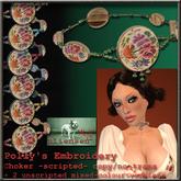 Bliensen + MaiTai - Hilde's Embroidery Choker