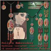 Bliensen + MaiTai - Hilde's Embroidery Necklace