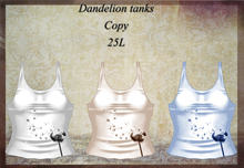 Dandelion Tanks Pack