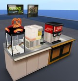 High quality full perm cafeteria drink station