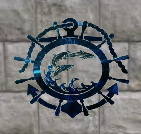 Metal Nautical Wall Decoration