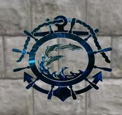 Metal Nautical Wall Decoration